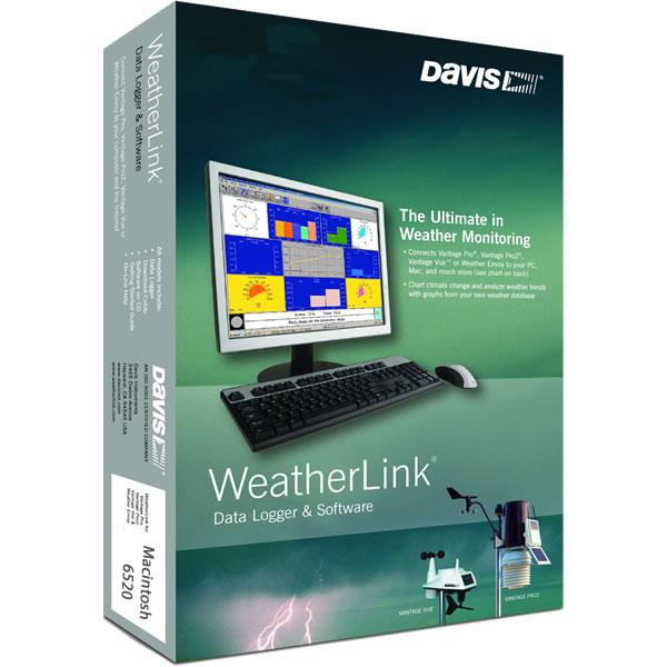 Davis WeatherLink Software 6520 for Mac Macintosh OS X